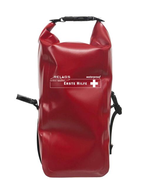 Relags Primeros auxilios - Plus impermeable rojo
